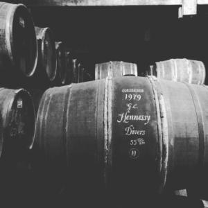 Vieillissement d'un tonneau de cognac Richard Hennessy
